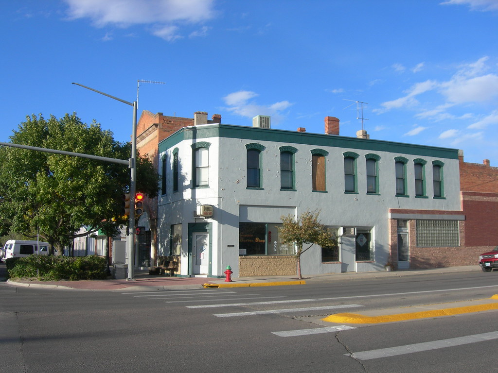 Maverick Bank Building Douglas Wyoming Constructed In