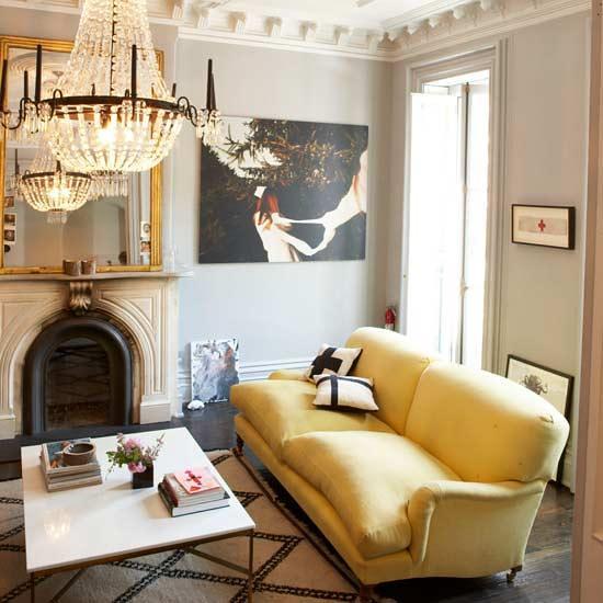 ... Yellow Velvet Sofa Via Decorpad | By Atexski