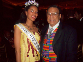 Queen Fifi Soumah and Ambassador Andrew Young | by missafricausa