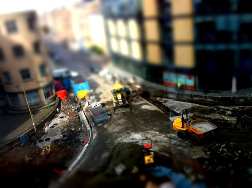 Construction site tilt shift | by graeme.curran
