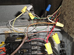 5062498745_1c5446d9ca_m coleman, air handler, eb15b, wiring damage, fan relay flickr coleman air handlers wiring diagram at mifinder.co