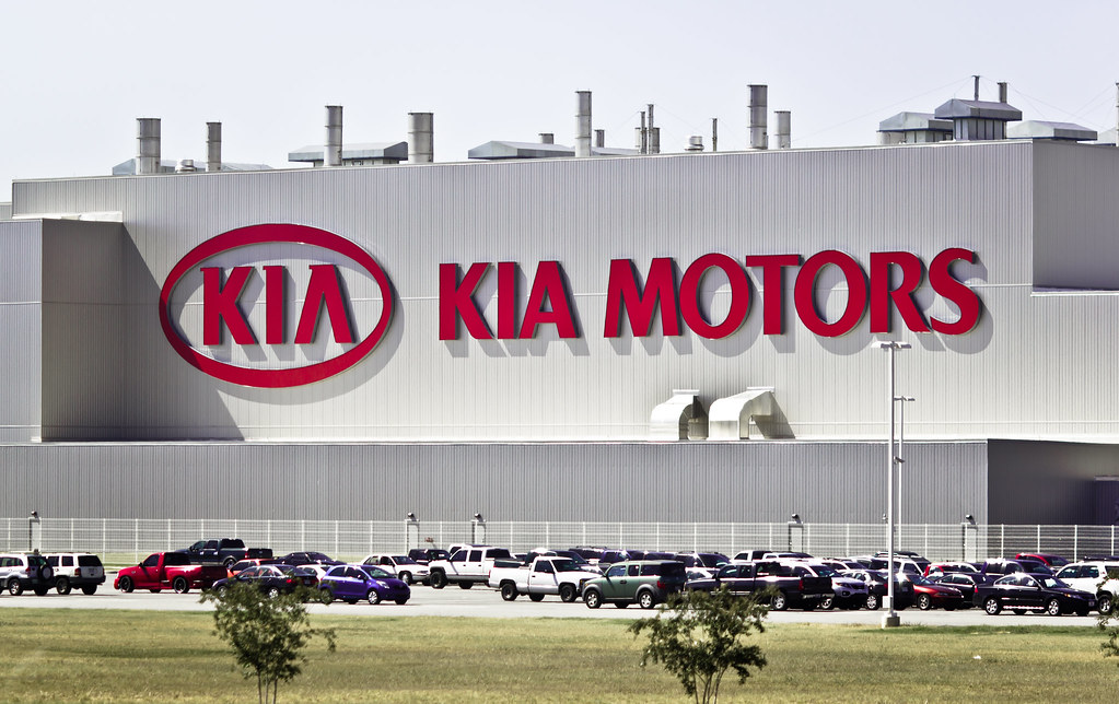 kia motors plant located near west point ga i took the