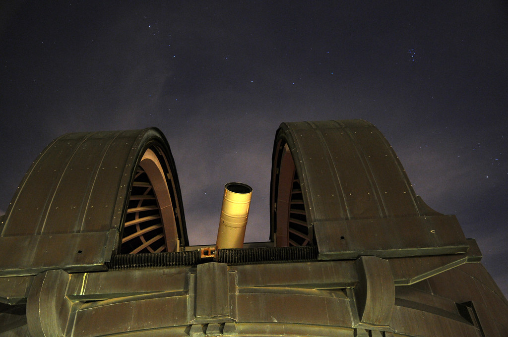 The Zeiss 12 Inch Refracting Telescope Dome At The Griffit
