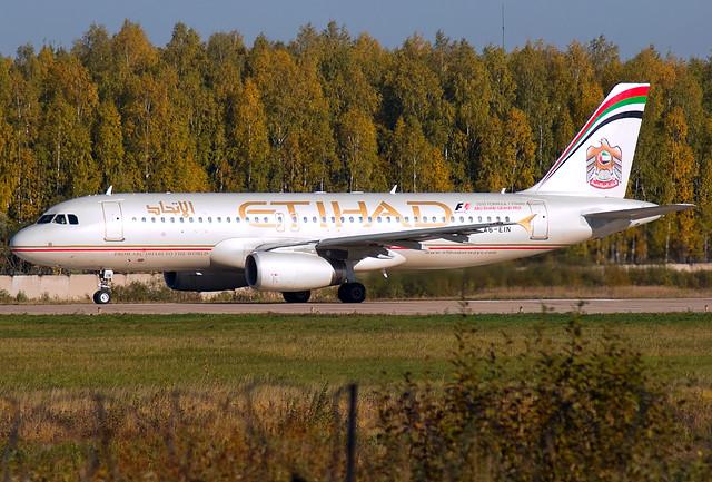 A6-EIN  Etihad Airways الإتحاد Airbus A320-232