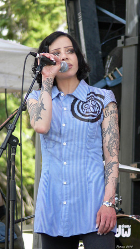 Biff Naked at musicfest 2010 | by Patricie ~ here & there