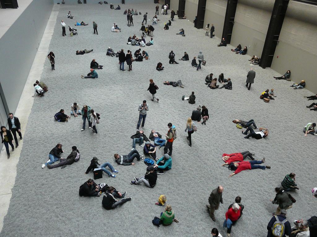 'Sunflower Seeds' by Ai Weiwei, Tate Modern Turbine Hall ... Ai Weiwei Sunflower Seeds