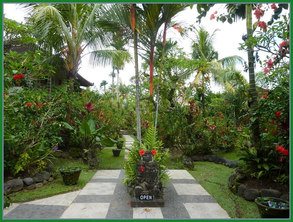 Bali Garden Ubud Bali Larry Oien Flickr