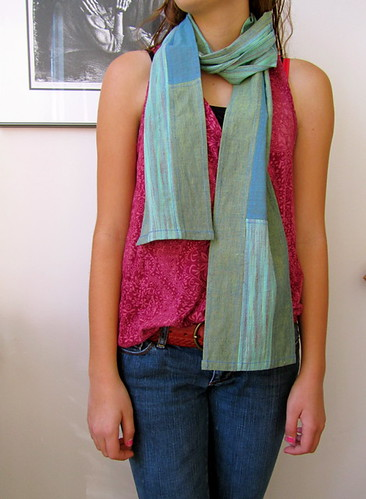 Shot Cotton Scarf | by BooDilly's