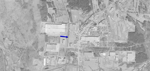 Cherokee Drive-In aerial photo 1972 | by OzonerGPS
