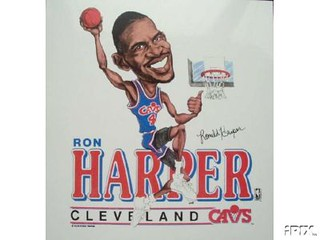 Ron Harper Cartoon | by Cavs History