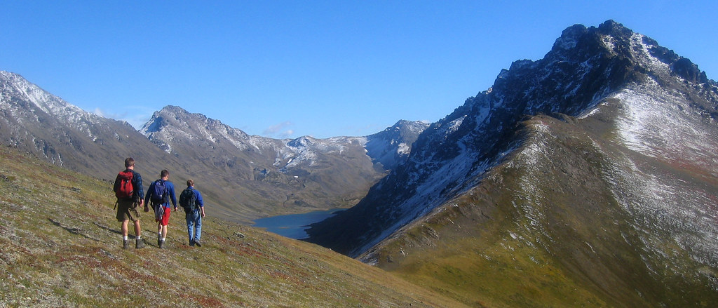 The ridgeline between Wolverine Peak and Mount Elliot. Chu… | Flickr