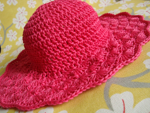 Hot Pink Sun Hat 1 | by luv_maxine_15611