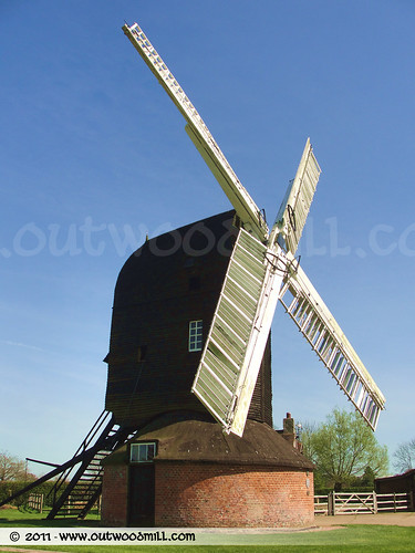 Outwood Mill | Outwood Post Mill | External View 28 | by Outwood Windmill