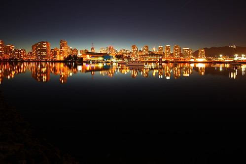 Vancouver by night | by Chimay Bleue