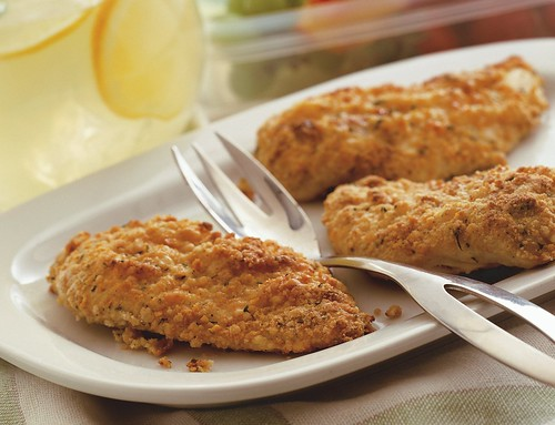 Oven-Fried Picnic Chicken Recipe | by Betty Crocker Recipes
