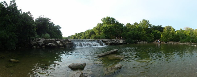 Barton creek greenbelt bench falls at lost creek flickr for Barton creek nursery