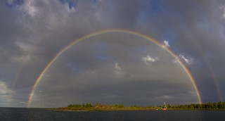 Rainbow Over Club Island | by futuraprime