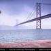 Portugal - Lisbon - Lisboa - Gloomy & Foggy Afternoon over Bridge 25 de Abril - 25th of April