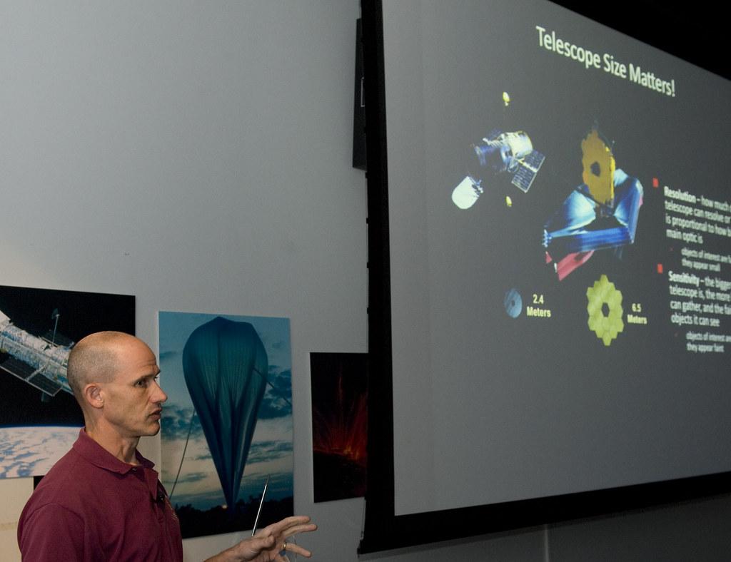 James Webb Space Telescope Night at the NASA Goddard Visit ...