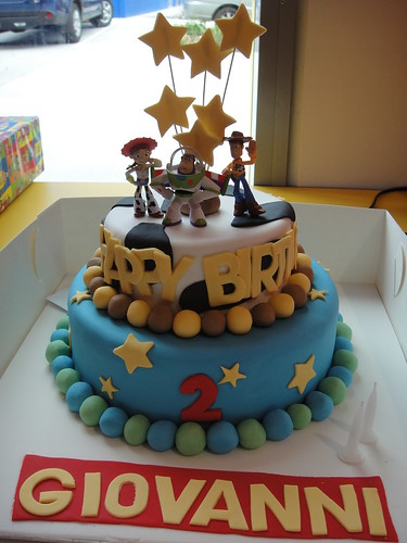 Toy Story Cake This Was Meant To Be A 3d Elmo Cake