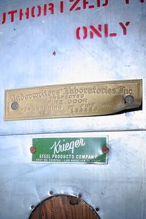 Underwriters Laboratories Inc Inspected Fire Door For Flickr