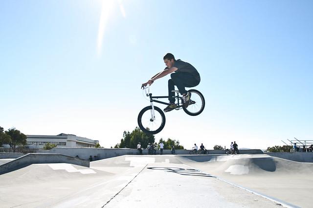 bmx park tricks