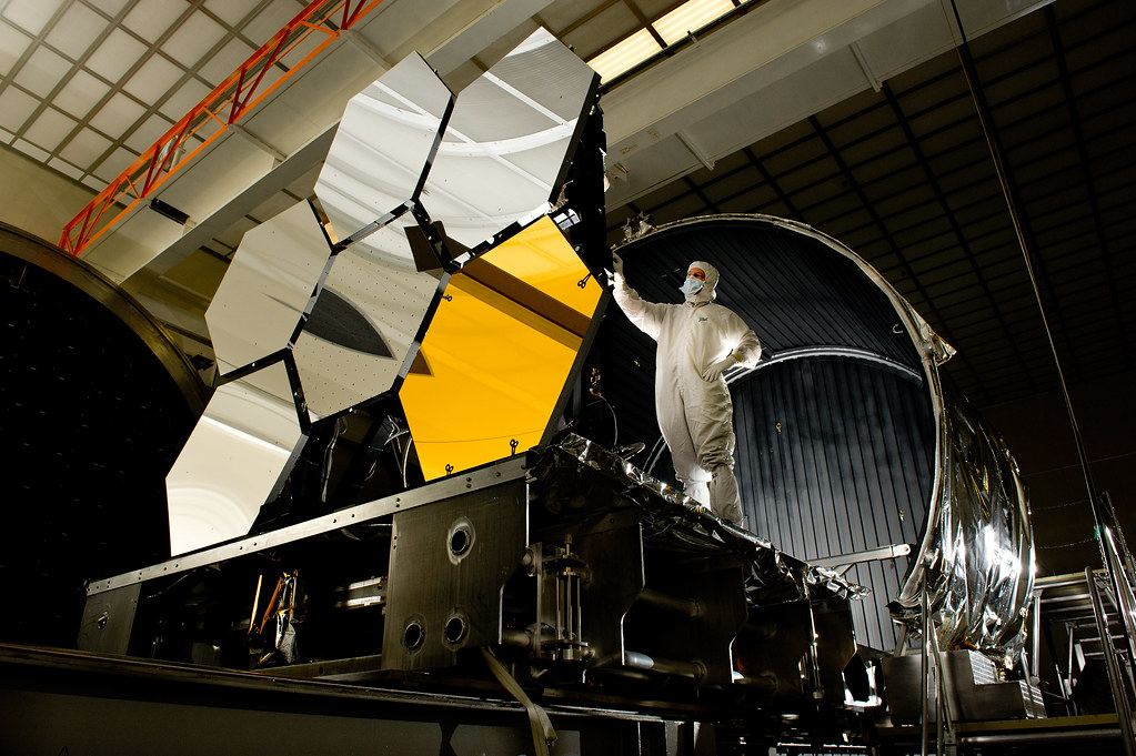 Gold-coated Primary Mirror Segment | Ball Aerospace lead ...