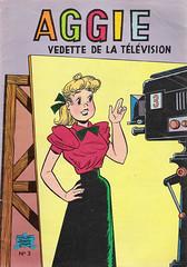 A3 Aggie vedette de la television