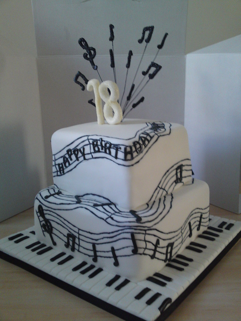 Music Cake This Cake Was For A Girl Who Loves Music I