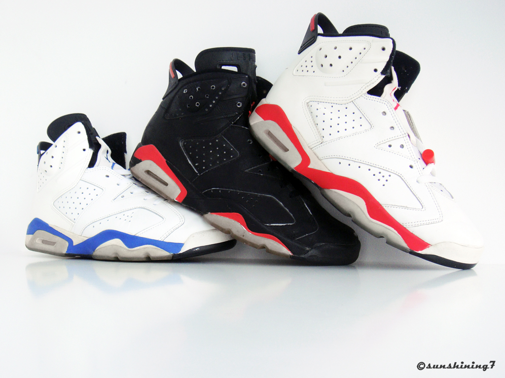 nike air jordan vi 1991 world