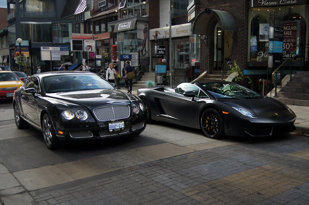 ... Bentley Continental GT U0026 Lamborghini Gallardo LP560 4 Spyder | By  ZainSyedPhoto