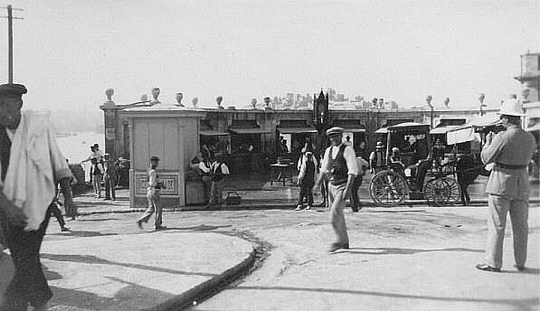 The old fish market at valletta malta 1930 frank lea for Franks fish market
