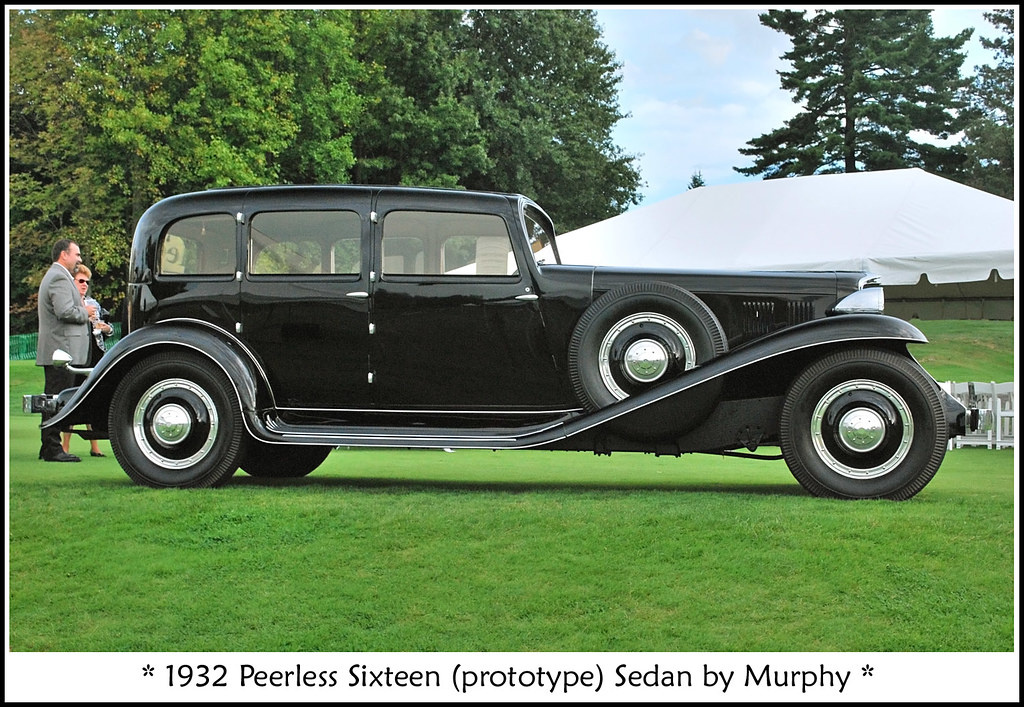 1932 Peerless Sixteen Photographed On September 18 2010