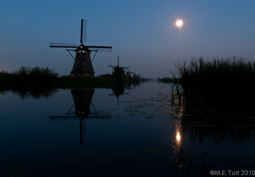 Mills of Kinderdijk - #X after sunset | by Marcel Tuit | www.marceltuit.nl