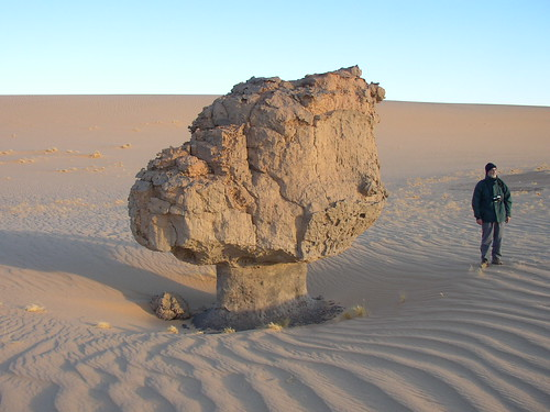 Roca fungiforme o en seta - Tagrera (Argelia) - 04