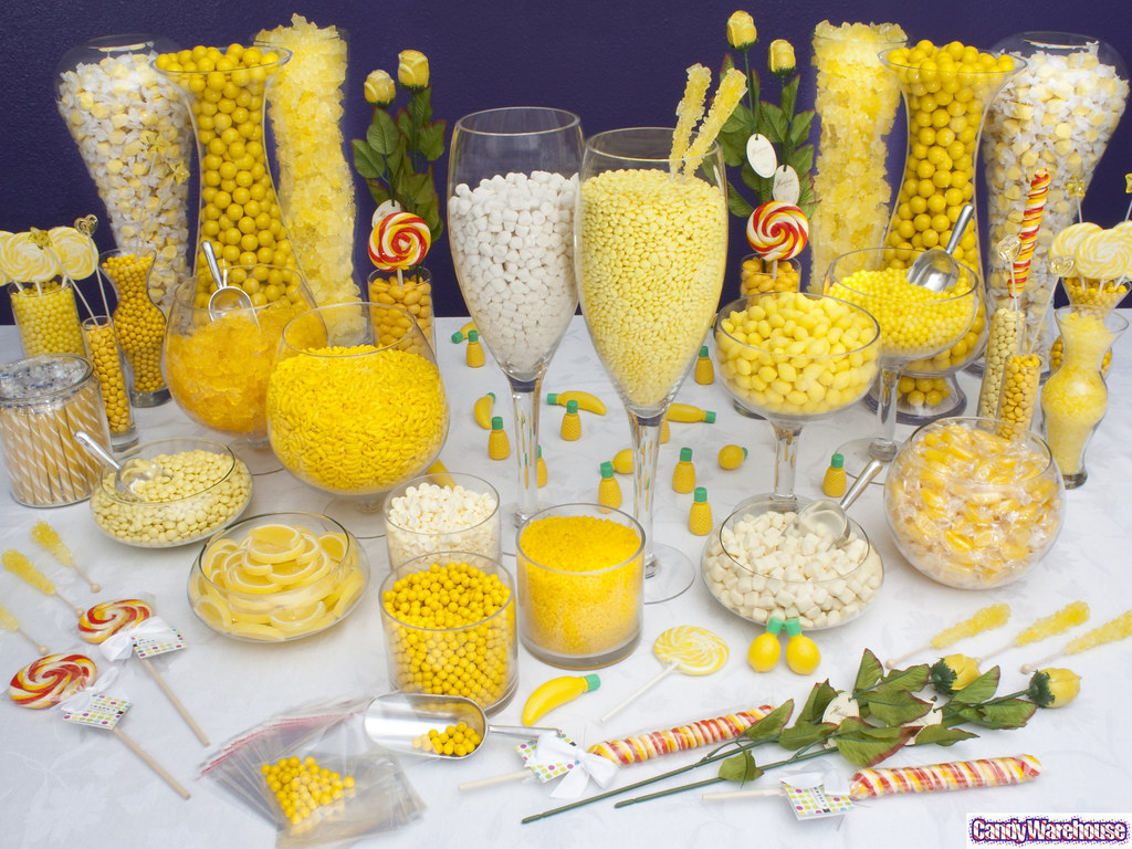 yellow candy buffet wow your party guests with a yellow ca flickr rh flickr com yellow candy buffet ideas yellow candy table ideas