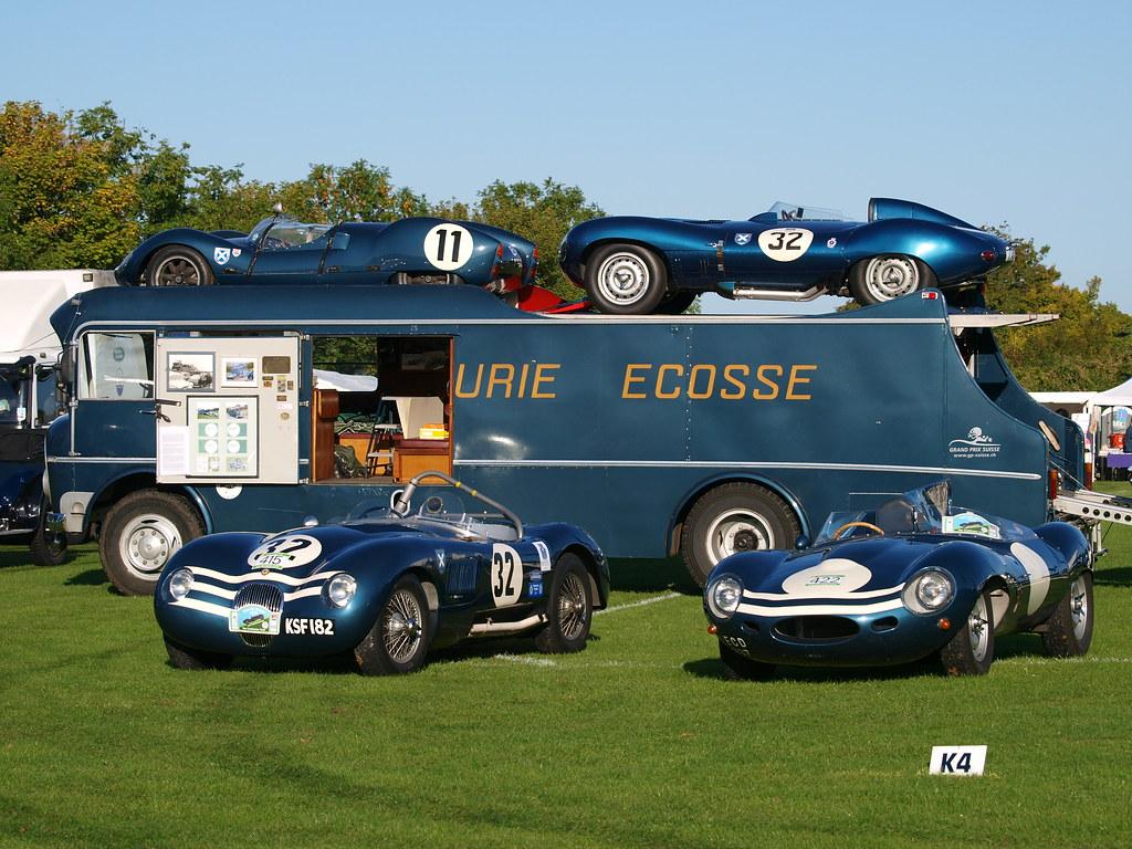 Vintage Race Car Transporter