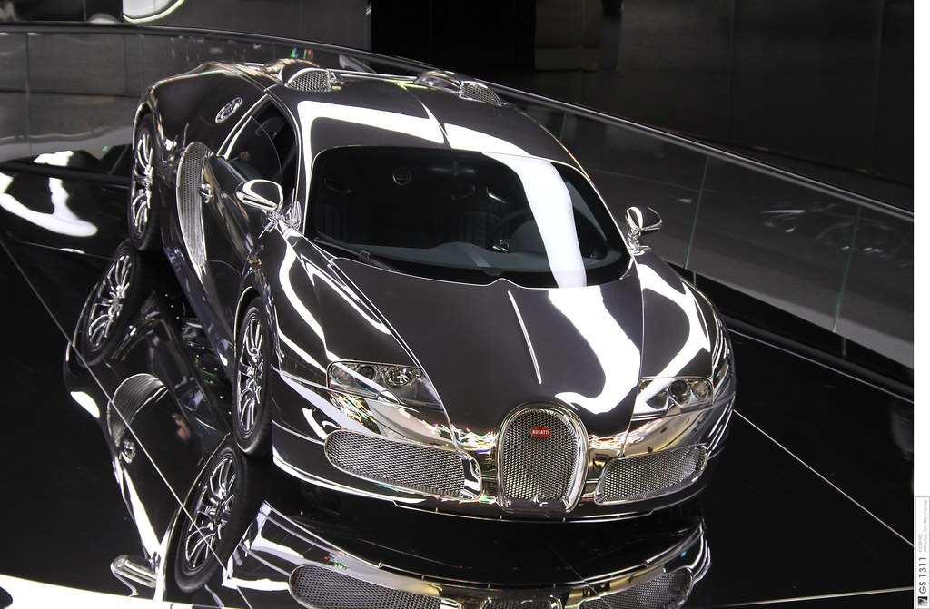 What Is The Fastest Production Car In The World >> 2008 Bugatti Veyron 16.4 mirrored / verspiegelt (06) | Flickr