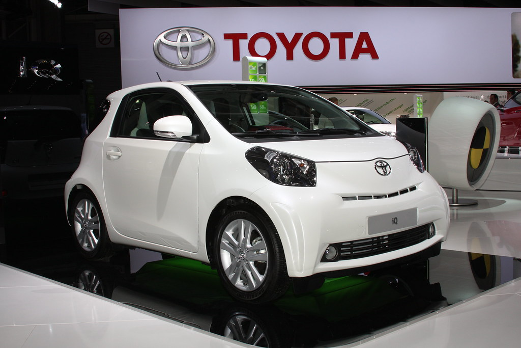 Toyota At The Paris Motor Show 2010 2011 Iq All The
