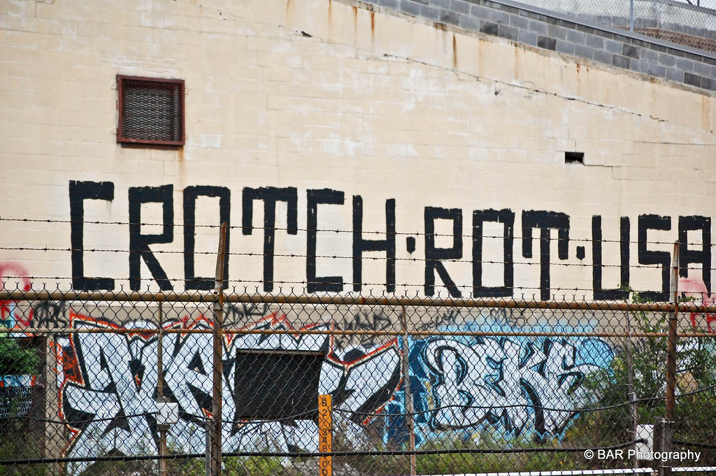 crotch rot usa informal mural blair road nw crotch rot flickr. Black Bedroom Furniture Sets. Home Design Ideas
