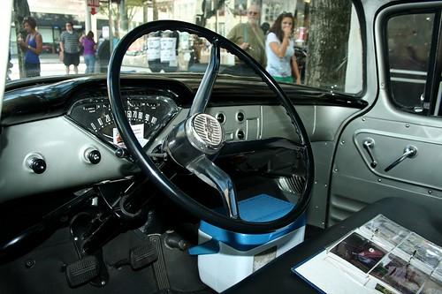 1958 Chevrolet Apache 31 Pickup Truck Interior 800x533