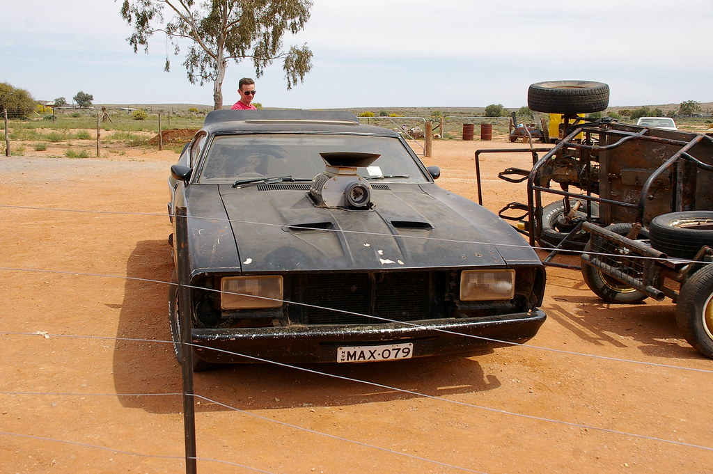 The Mad Max car | from the 1979 film, which was filmed in ...