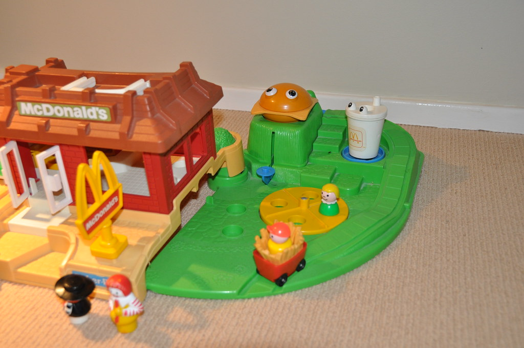 Fisher Price McDonalds Playset | McDonalds playset from 1990… | Flickr
