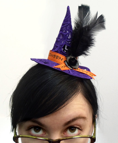 Lace Witch Hat | by Urban Threads