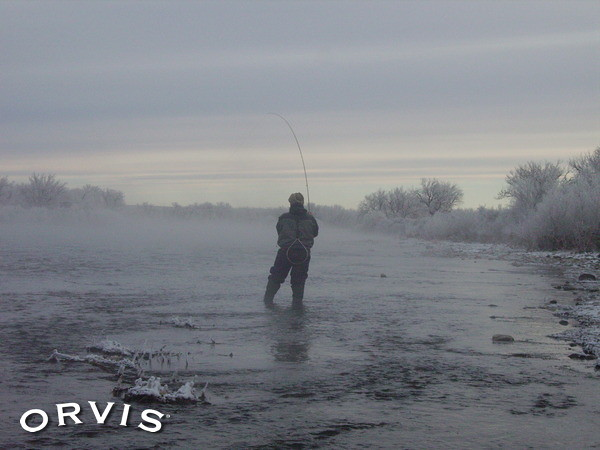 Orvis fly fishing contest frost fog and a bent rod for Orvis fly fishing blog