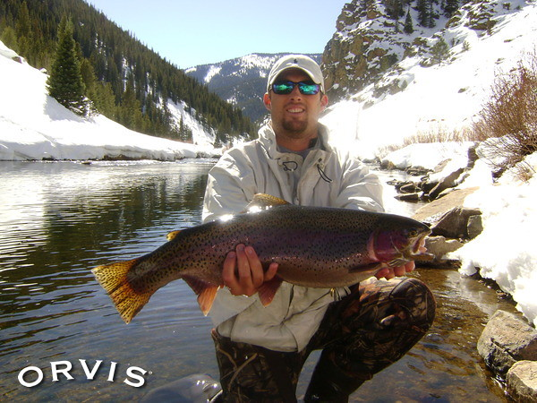 Orvis fly fishing contest calling the hogs big rainbow for Orvis fly fishing blog