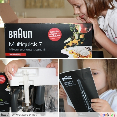 Braun Multiquick  K Food Processor