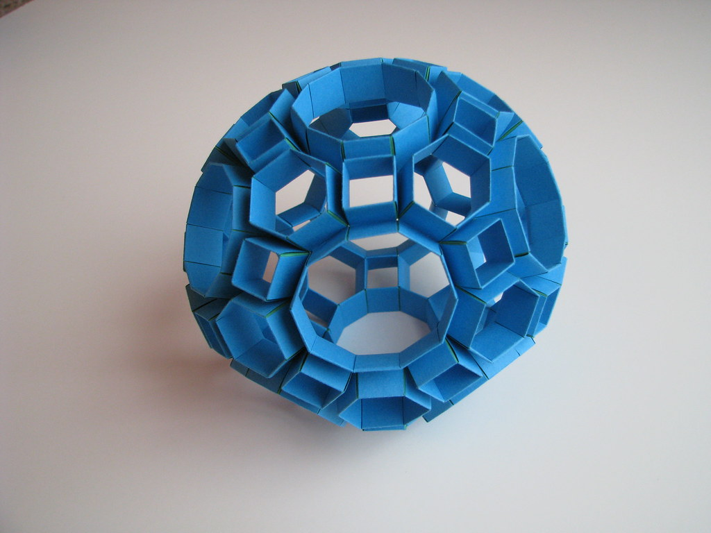 Heinz Strobl Snapology Truncated Icosidodecahedron 1   Flickr - photo#11