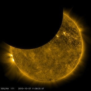 SDO Observed its First Lunar Transit | by NASA Goddard Photo and Video