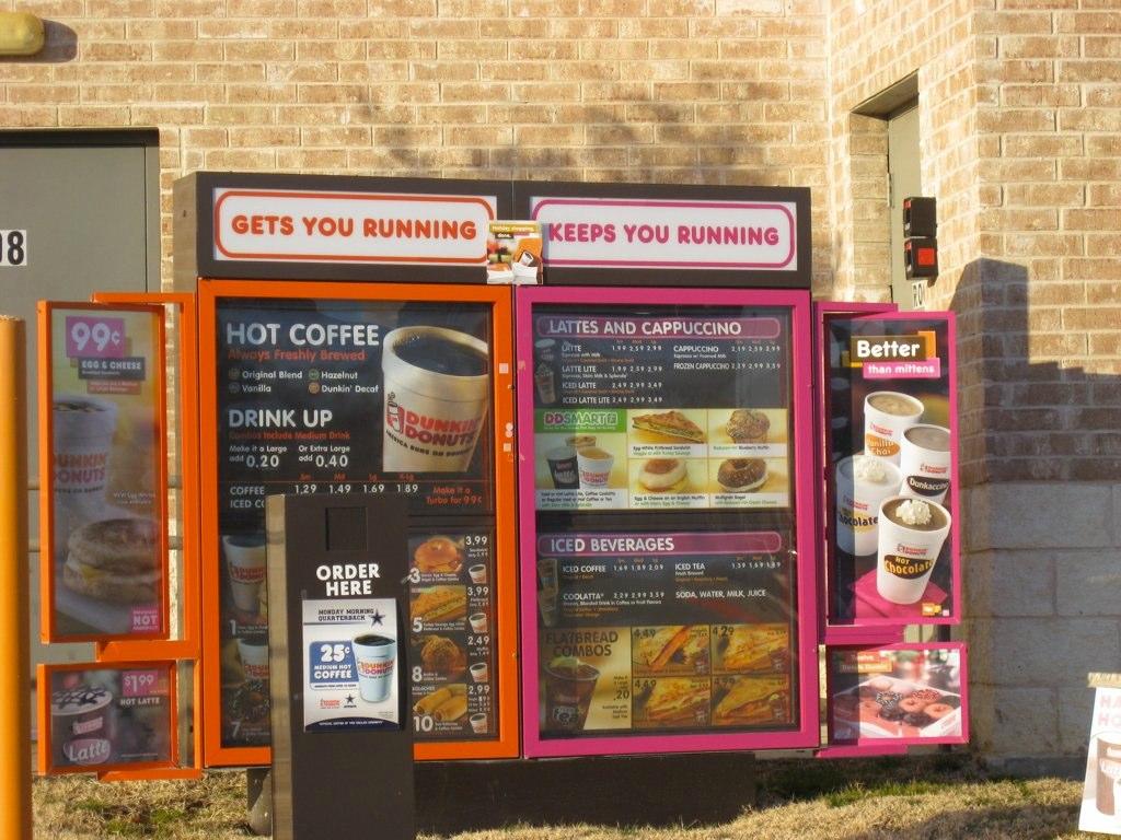 Dunkin Donuts Drive Thru Dunkin Donuts Drive Thru Flickr